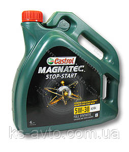 Масло моторное CASTROL Magnatec STOP-START 5W-30