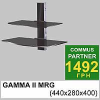 Полка под тюнер Commus Gamma II MRG