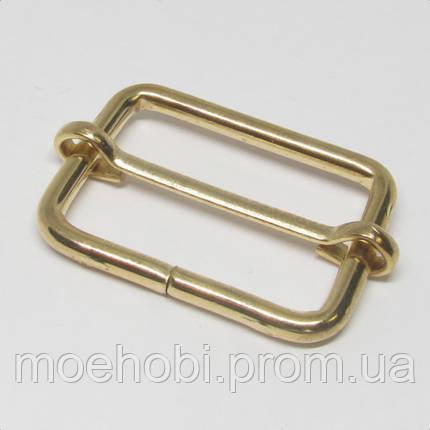 Регулятор сумочный (30мм) золото  4186, фото 2