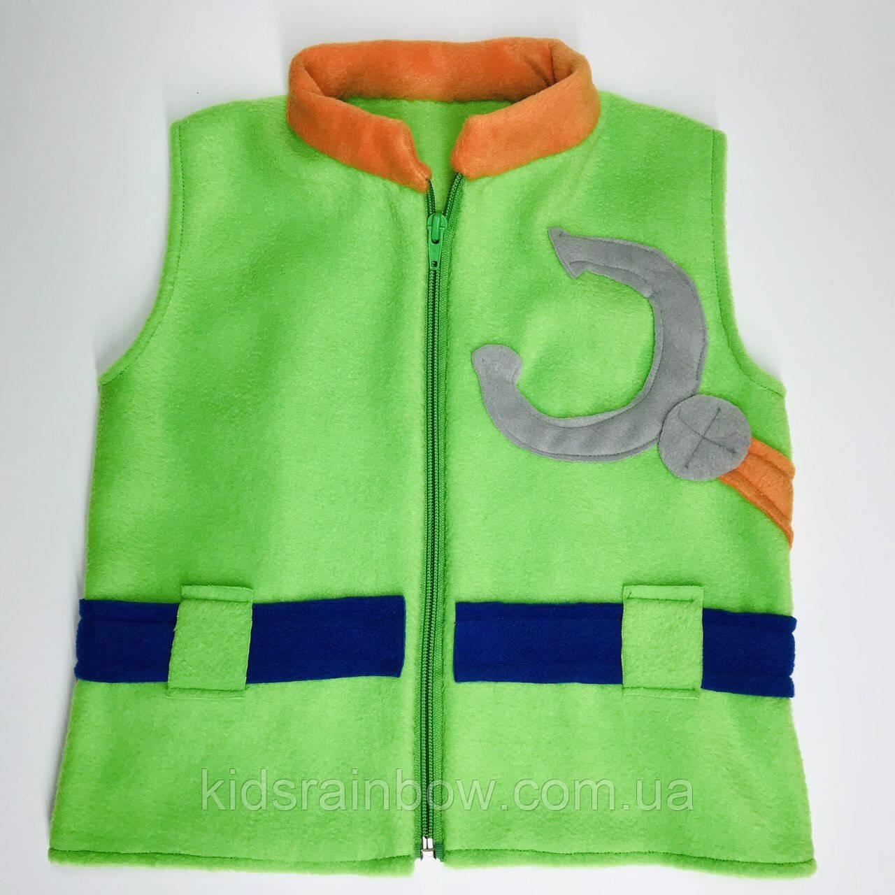 Флисовая жилетка костюм героев Щенячий патруль Рокии