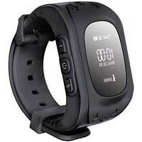 Детские умные часы Motto с GPS трекером GW300 (Q50) Черные с гарантией 6 месяцев, фото 1