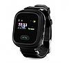 Детские умные часы Motto с GPS трекером GW900 (Q60) Черные с гарантией 6 месяцев