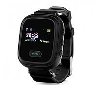 Детские умные часы Motto с GPS трекером GW900 (Q60) Черные с гарантией 6 месяцев, фото 1