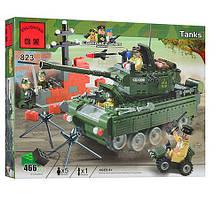 """Конструктор Brick 823 """"Танк военный"""", 466 дет."""