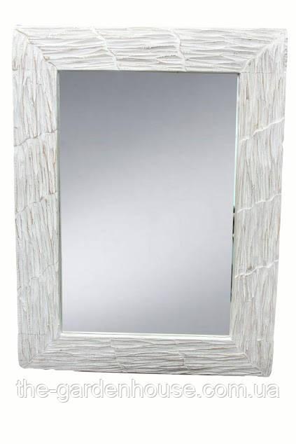 Дзеркало Ajur 80х60 см, біле