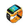 Детские умные часы Motto с GPS трекером  G900A Желто- оранжевые с гарантией 6 месяцев