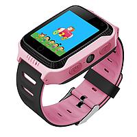 Детские умные часы Motto с GPS трекером  G900A Желто- оранжевые с гарантией 6 месяцев, фото 1