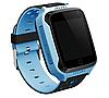 Детские умные часы Motto с GPS трекером  G900A Голубые  с гарантией 6 месяцев