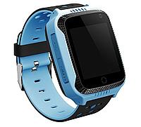 Детские умные часы Motto с GPS трекером  G900A Голубые  с гарантией 6 месяцев, фото 1