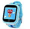 Детские умные часы Motto с GPS трекером  TD-10 (Q150) Синие  с гарантией 6 месяцев