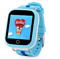 Детские умные часы Motto с GPS трекером  TD-10 (Q150) Синие  с гарантией 6 месяцев, фото 1