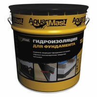 Мастика гидроизоляционная битумная холодная AquaMast для фундамента 10 кг