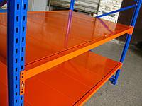 Стеллажи металлические НВ, с металлическими полками, с нагрузкой на полку до 1000 кг, более 50 комплектаций