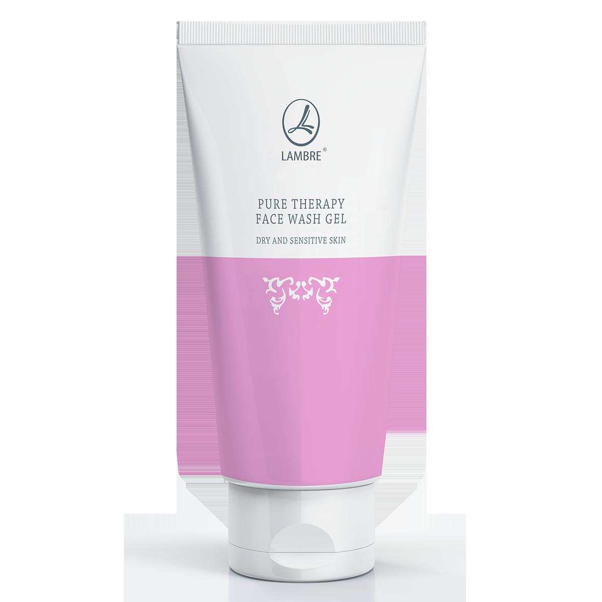 Очищающий гель для сухой и чувствительной кожи LAMBRE Pure Therapy Face Wash Gel for Dry and Sensitive Skin