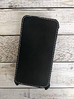 Чехол флип  Samsung J250/ J2 (2018) черный глянец