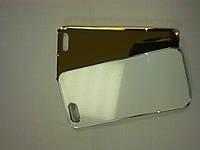 Чехол 2 D МЕТАЛЛИК для iPhone 4\4S