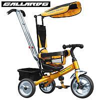 Велосипед трехколесный Baby Tilly BT-CT-0001 Gold Exclusive