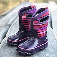 Зимние водонепринацаемые сапожки BOGS (США) р 24. зимняя детская обувь