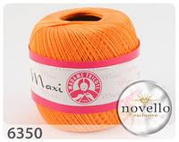 Madame Tricote Maxi № 6350 оранжевый