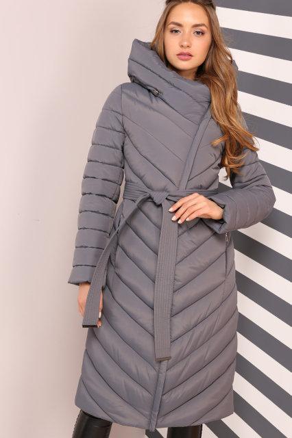 Зимнее женское пальто удлиненное Nui very