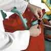 Держатель мешка для профессиональной уборочной тележки, фото 3