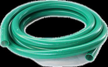 Шланг гофра Evci Plastik зелена напірно-всмоктувальна діаметр 25 мм, довжина 10 м