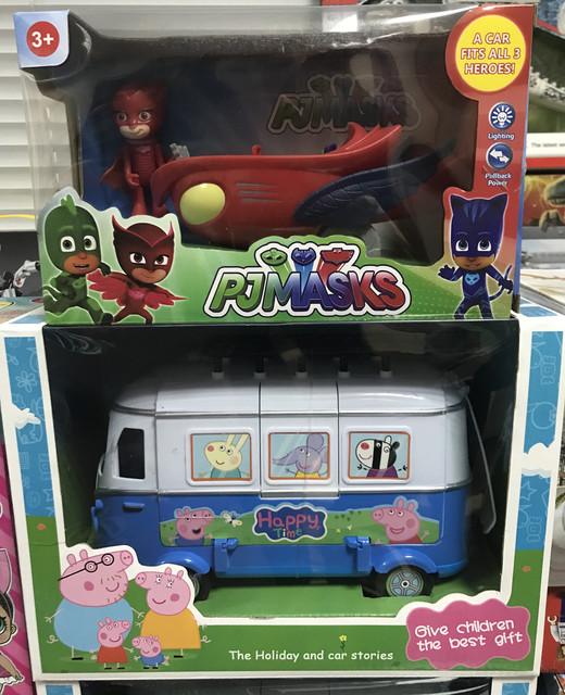 Популярные игрушки и герои мультфильмов