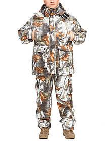 """Теплый зимний костюм из непромокаемой ткани """"Зимний лес"""" размер с 46 по 66"""