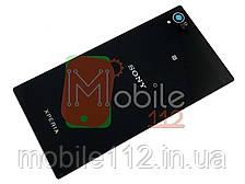 Задняя крышка Sony C6902 Xperia Z1 L39h/С6903/С6906/С6943, черная
