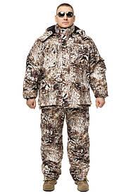 Зимний дышащий костюм, штаны полукомбинезон зимний (Зимний Лес ) Есть все размеры с 46-66