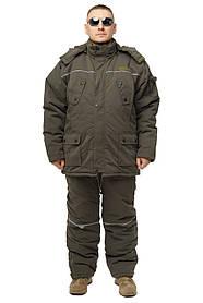 Зимний дышащий костюм, штаны полукомбинезон Diamond Cotton Oлива Есть все размеры с 46 по 66
