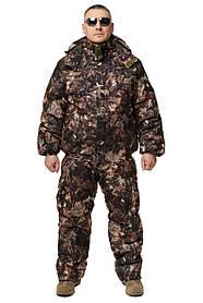 Зимний дышащий костюм, штаны полукомбинезон зимний (Хвоя ) Есть все размеры с 46-66