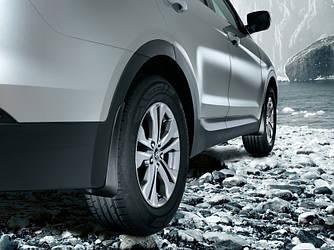 Брызговики Hyundai Santa Fe 2012-2018 (полный кт 4-шт), кт.
