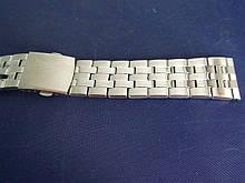Браслет для годинника метал 20 Silver