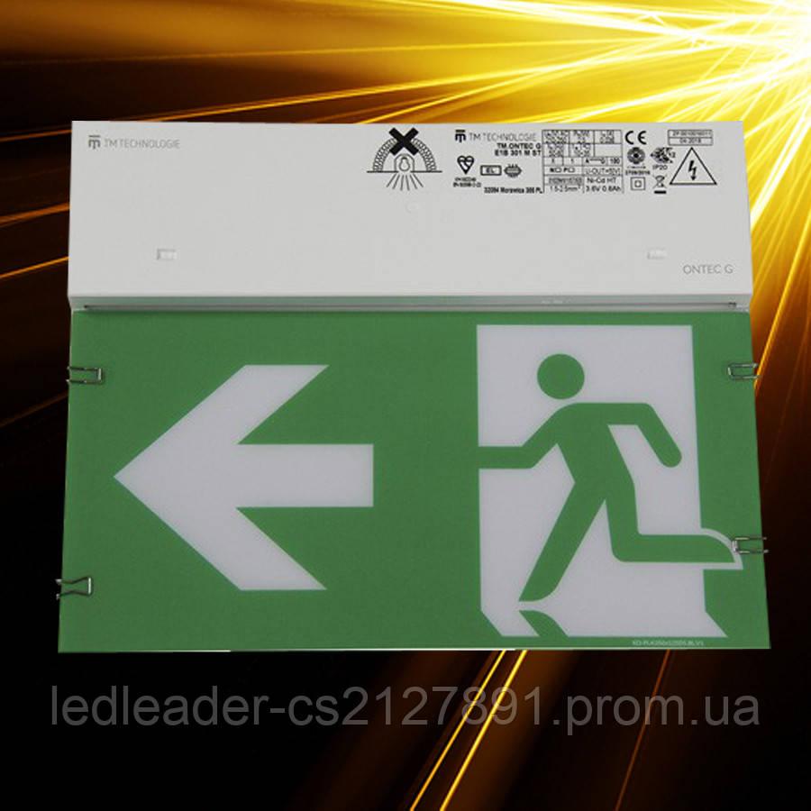 Аварийный светильник ONTEC G E1B 301 M ST/W 3h IP20