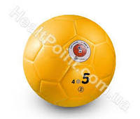Футбольный мяч для мини футбола (380 грамм Ø - 19,9 см.) - Желтый
