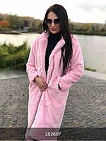 МБ плюшевое пальто