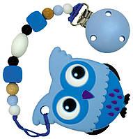 Прорезыватель Tiny world Голубой совенок (sa-0001)