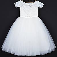 8118ee387508c9c Платье нарядное детское гипюровое