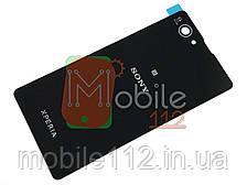 Задняя крышка Sony D5503 Xperia Z1 Compact mini, черная