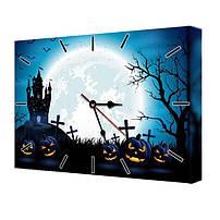 Часы на Хеллоуин