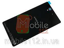 Задняя крышка Sony C6602 Xperia Z L36h/C6603 L36i/C6606 L36a, черная