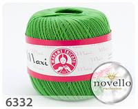 Madame Tricote Maxi № 6332 зеленый
