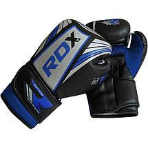 Детские боксерские перчатки RDX Blue, фото 3