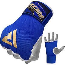 Бинт-перчатка RDX Inner Gel Blue S, фото 2