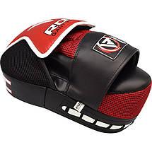 Лапы боксерские RDX Multi Red, фото 3