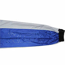 Костюм для похудения с капюшоном RDX Blue M, фото 2