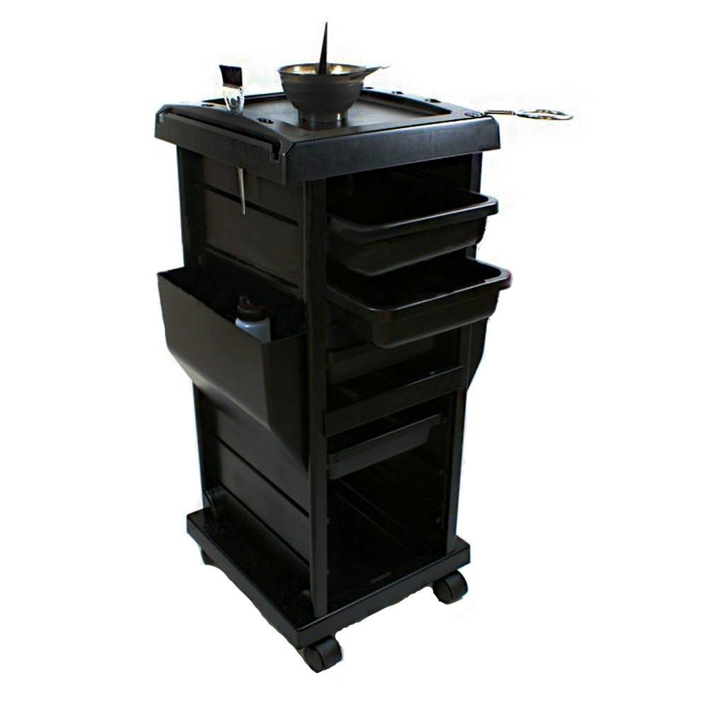 Парикмахерская тележка Т - 100А (черная)