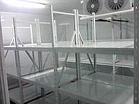 Стеллажи металлические с траверсами и наборными полками АСК, нагрузка на полку до 400 кг, любые размеры