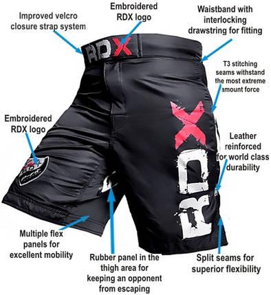 Шорты MMA RDX X3 Old XS, фото 2